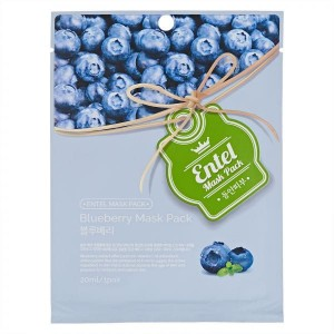 Entel Mask Pack Blueberry