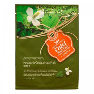 Entel Houttuynia Cordata Mask Pack