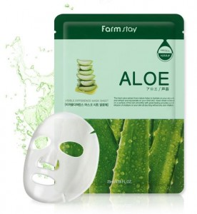 FARM STAY Visible Difference Mask Sheet ALOE