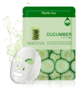 FARM STAY Visible Difference Mask Sheet CUCUMBER
