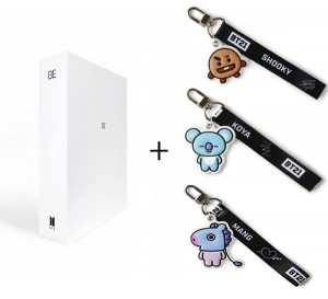 Zestaw album BTS BE (Deluxe Edition) + opaska BT21